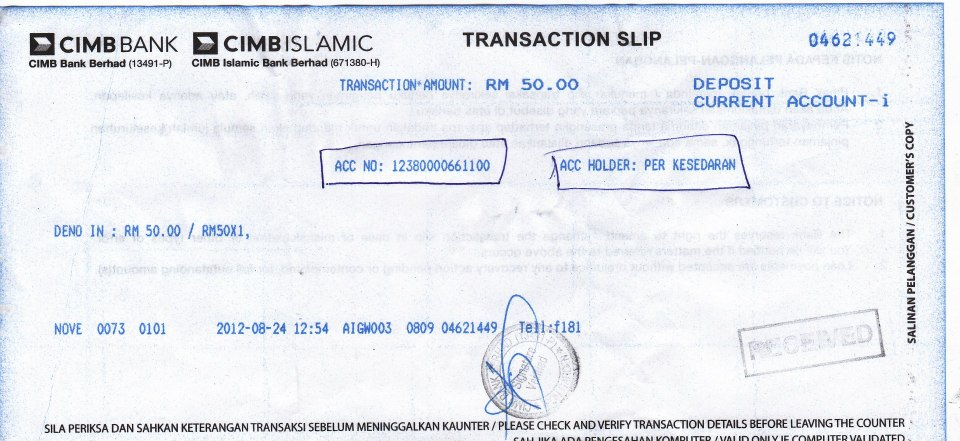 How To Get Cimb Bank Statement Online