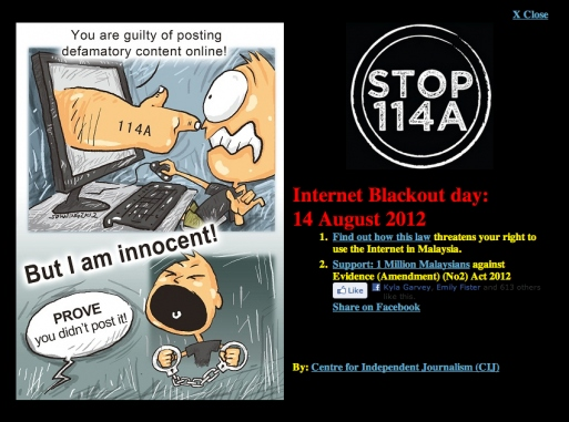 TUESDAY 14 AUGUST 2012 WAS INTERNET BLACKOUT DAY | weehingthong