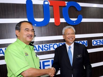 The First Urban Transformation Centre (UTC) in Malaysia, The Best Public Service Centre, located at Wisma Dunia Melayu Dunia Islam (DMDI) in Jalan Hang Tuah, Malacca