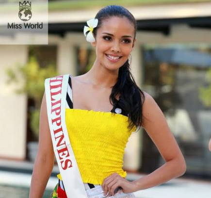 Megan Young, a beauty with a purpose. [Photo courtesy of Miss World]