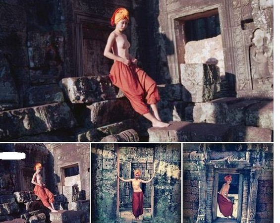 Angkor wat nude share your