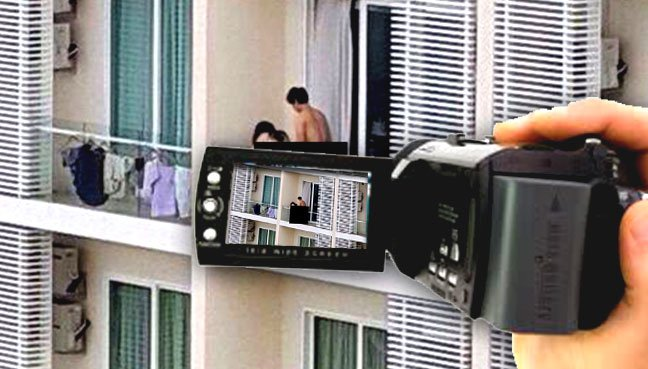 Sex On Balcony 119