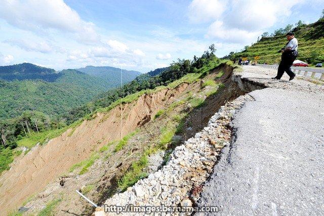 Simpang Pulai Cameron Highlands Road Safe For Users Perak Exco Astro Awani