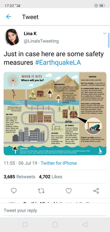 LA earthquake: Precursor to the BIG ONE?   weehingthong